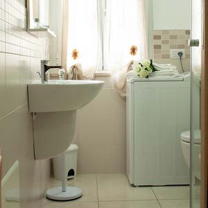 Apartments: Bathroom (two-room apartment - flat 5)