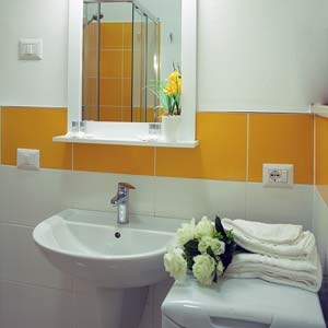 Apartments: Bathroom (two-room apartment - flat 6)
