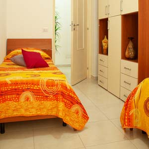 Apartments: Twin room (three-room apartment - flat 4)