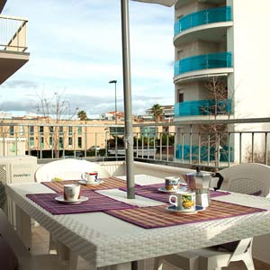 Apartments: Terrace (two-room apartment - flat 6)