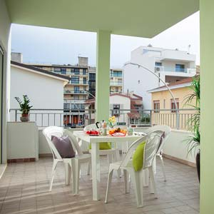 Apartments: Terrace (two-room apartment - flat 5)